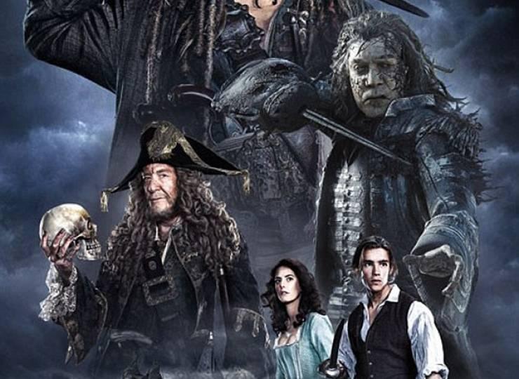Pirates: Dead Men Tell No Tales – PG-13