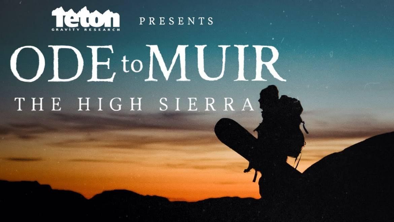 TGR's Ode to Muir